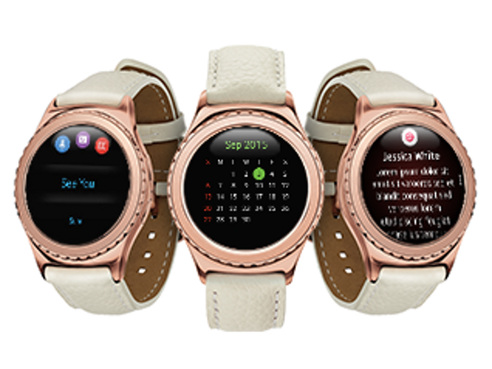 Gear S2 Classic Rose Wearables Sm R7320zdaxar Samsung Us