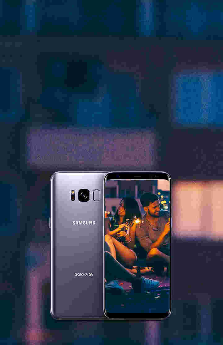Upgrade your summer with a free Galaxy S8