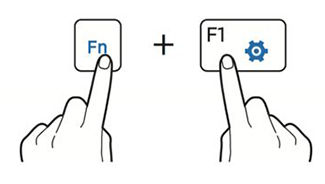 how to make keyboard use fn without pressing it