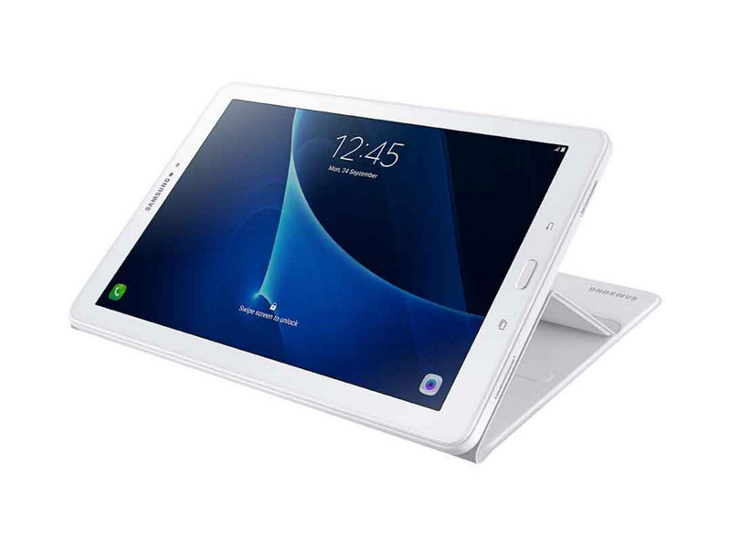 Tab S Book Cover White : Book cover for tab a with s pen white mobile