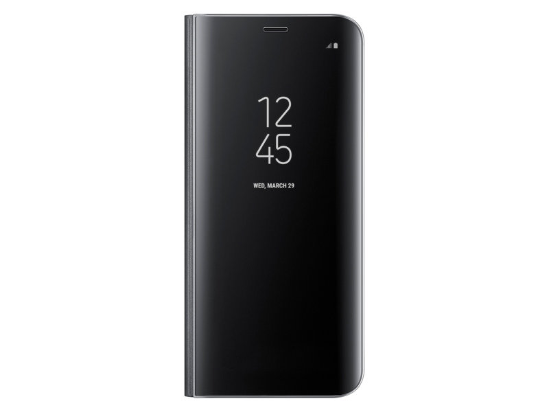 Galaxy S8 S-View Flip Funda, Negro