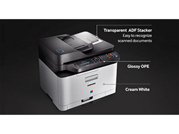 samsung xpress sl c480fw laser multifunction printer color brand new w toner ebay. Black Bedroom Furniture Sets. Home Design Ideas