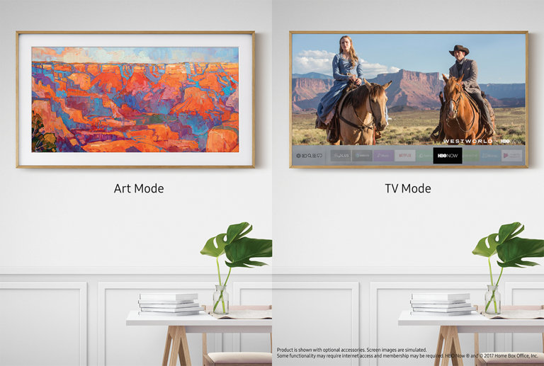 The most beautiful TV you've never seen.