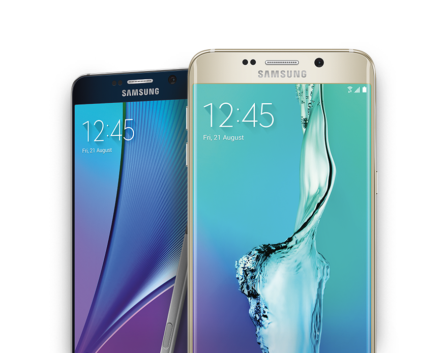 Samsung Galaxy S6eplus and Note5