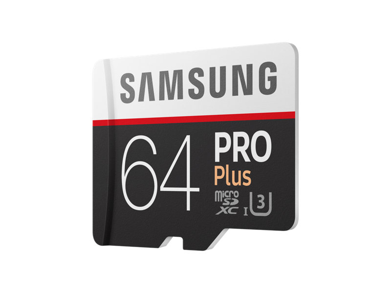 Microsdxc Pro Plus Memory Card W/ Adapter 64Gb (2017 Model) Memory