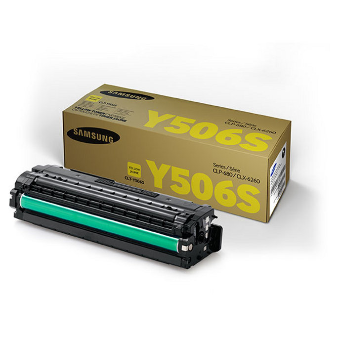 Yellow Toner - 1,500 Page Yield