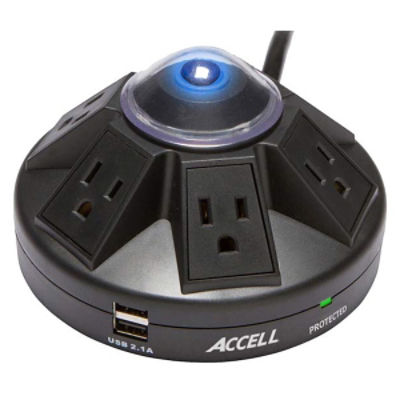 Accell Powramid® Power Center and USB Charging Station