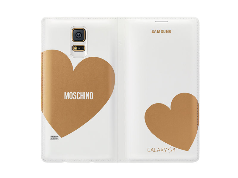 Galaxy S5 Moschino Wallet Cover