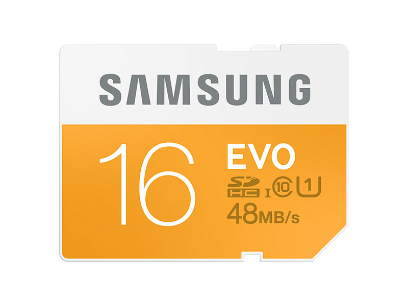 SDXC EVO Memory Card 16GB