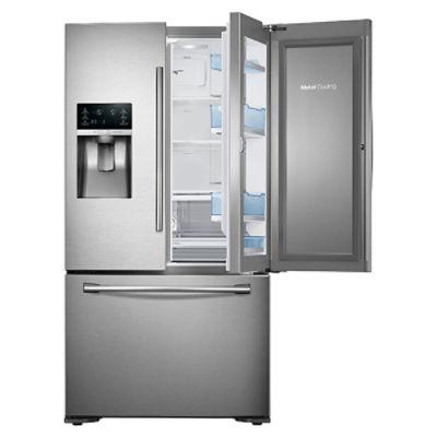 23 cu. ft. Counter Depth 3-Door Food ShowCase Refrigerator ...