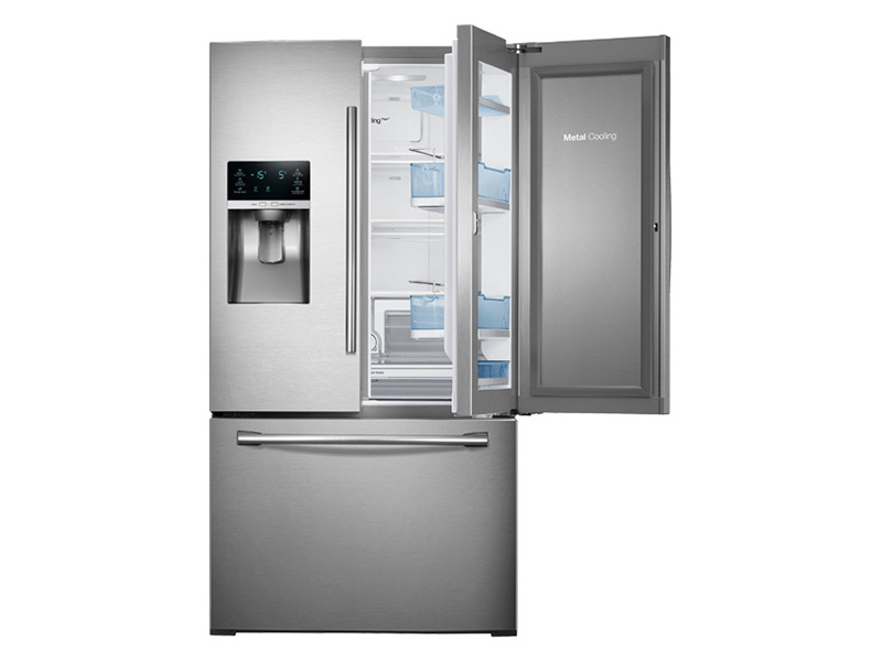 28 Cu Ft 3 Door French Door Food Showcase Refrigerator