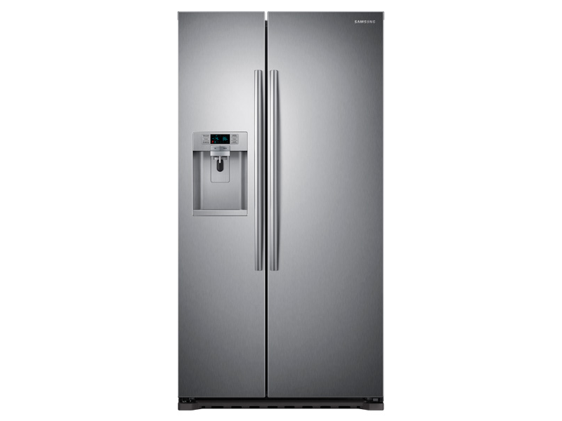 22 cu ft counter depth side by side refrigerator. Black Bedroom Furniture Sets. Home Design Ideas