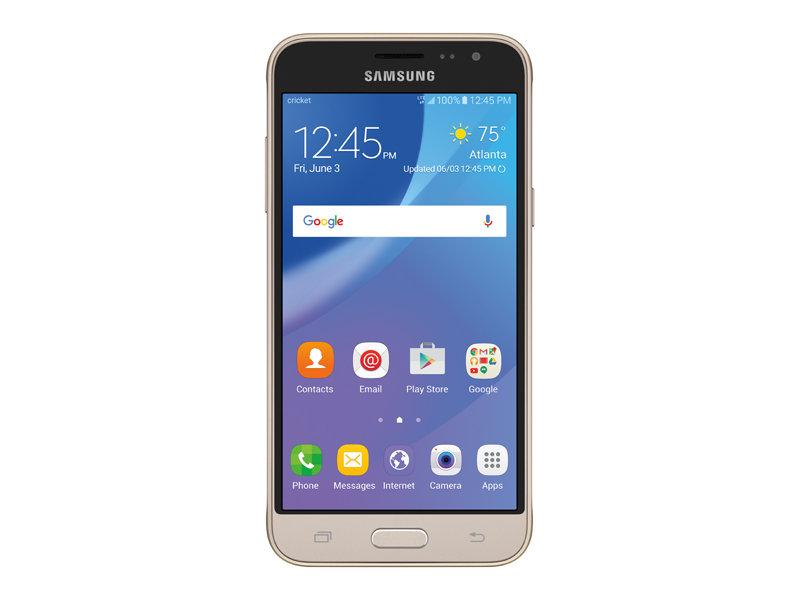 samsung galaxy sol cricket gold phones   sm j321azdzaio