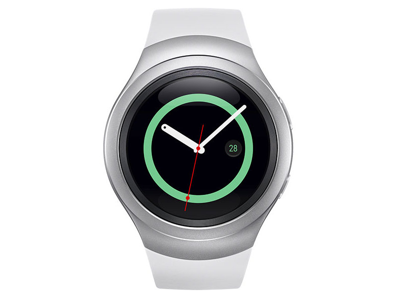 Gear S2 Silver Wearables - SM-R7200ZWAXAR | Samsung US