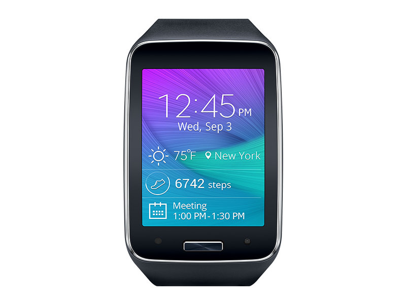 Gear S Black (Verizon) Wearables