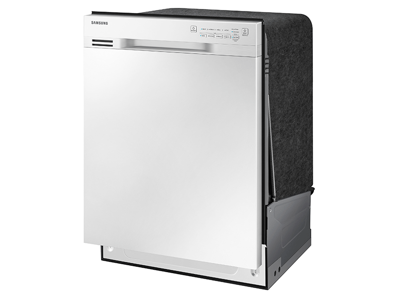 Front Control Dishwasher With Stainless Steel Interior Dishwashers Dw80j3020uw Aa Samsung Us