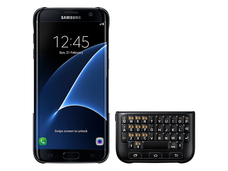 Galaxy S7 edge Keyboard Cover