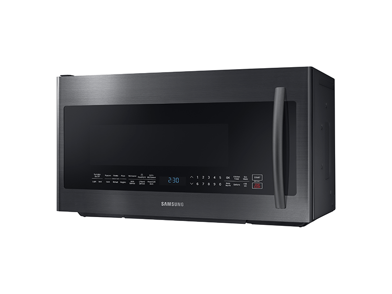 2 1 Cu Ft Over The Range Microwave With Powergrill And Ceramic Enamel Interior Microwaves