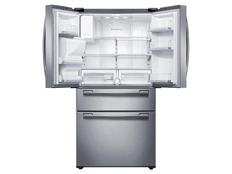 Amazing Dimensions Of Samsung French Door Refrigerator Part - 13: 4-Door French Door Refrigerator