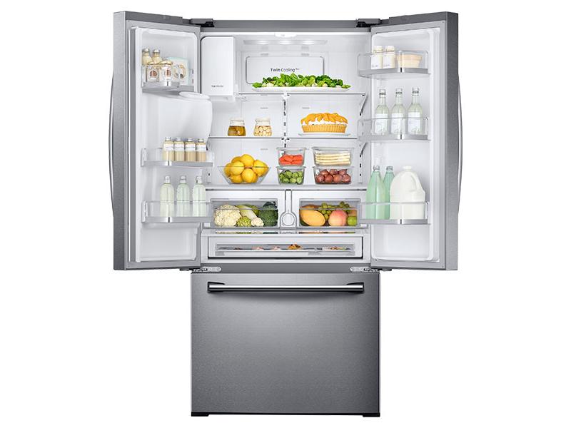 26 Cu Ft 3 Door French Door Refrigerator With Coolselect
