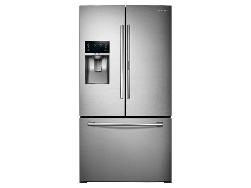 28 cu ft 3 door french door food showcase refrigerator. Black Bedroom Furniture Sets. Home Design Ideas