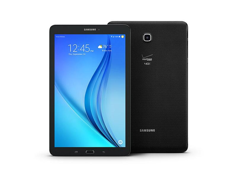 samsung tab e galaxy tab e 9 6 quot 16gb verizon tablets sm t567vzkavzw samsung us