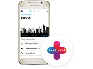 Get more from your Galaxy with Samsung+