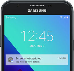 Samsung J3/J7 Screenshot