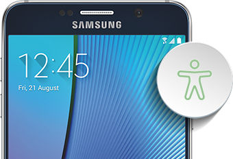 Samsung Galaxy Note5 Accessibility Settings