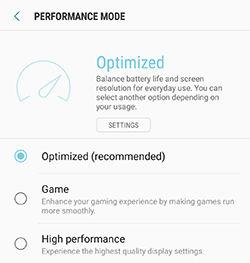 Samsung Galaxy Note5 Device Maintenance Battery Storage Memory Performance