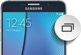 Samsung Galaxy Note5 Manage Recent Apps
