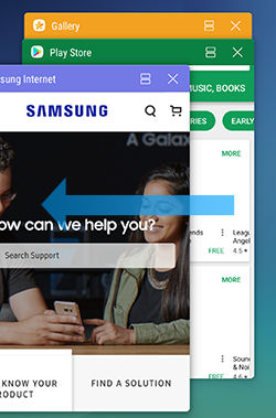 Samsung Galaxy Note5 Recent Apps Manage