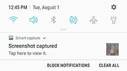 Samsung S6 edge edge+ plus Screenshot