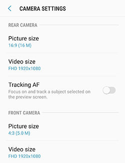 Samsung Galaxy S6 Camera Use Quick Launch