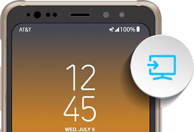 Screen Mirror Galaxy S8 Active On A Tv