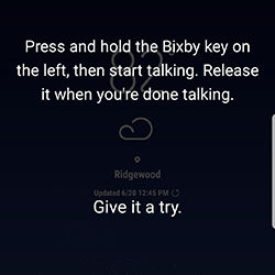 Galaxy S8 Plus Access Bixby Home Set Up Steps