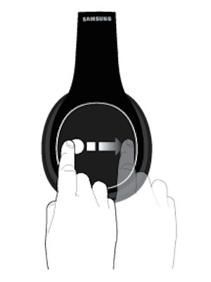 Samsung Level Over Headphone Touch Pad