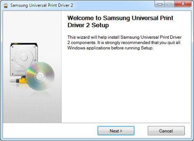 نرم افزار Samsung Universal Print Driver چیست؟
