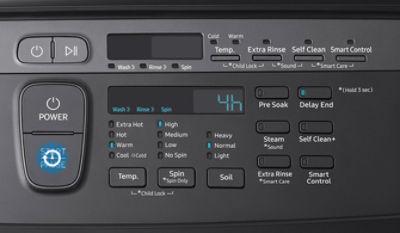 Samsung FlexWash 9600 Delay End Feature Lower Washer