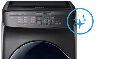 Samsung FlexWash 9600 self clean and self clean+