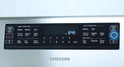 Samsung Flex Duo Gas Range Broil Chicken
