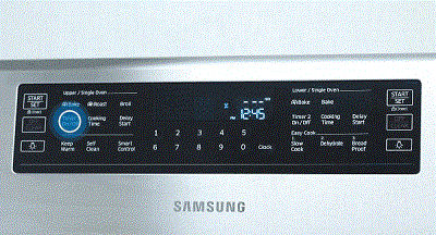 Samsung NX58K7850 Touch Timer On/Off