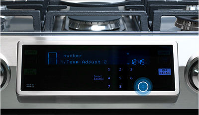 Samsung NX58K9850 Range Demo Mode
