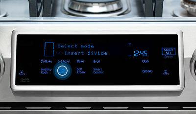 Samsung NX58K9850 Touch Keep Warm