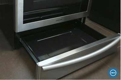 Samsung NX58K9850 Pull Out Drawer