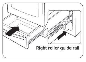 Samsung NX58K9850 Roller Guide