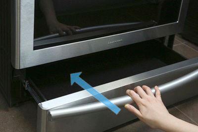 Samsung NX58K9850 Push In Drawer