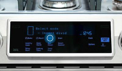 Samsung Slide-In Range Baking
