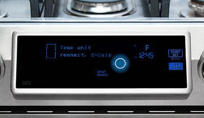 Samsung NX58K9850 Temperature Change
