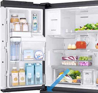 Samsung open drawer door